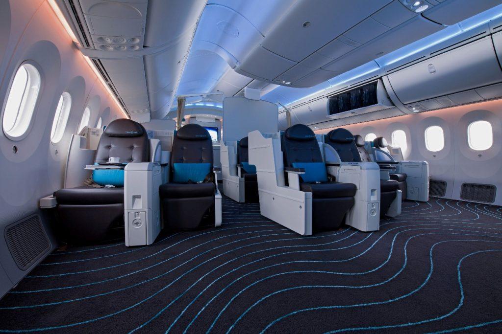 787 interior - biz class