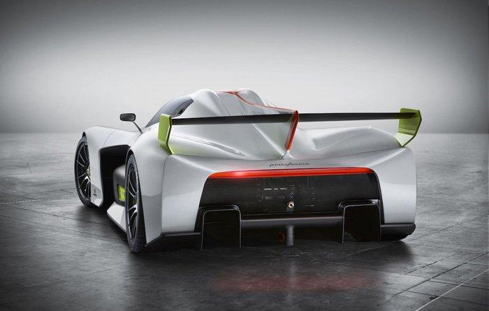 รถไฮโดรเจน Pininfarina H2 speed