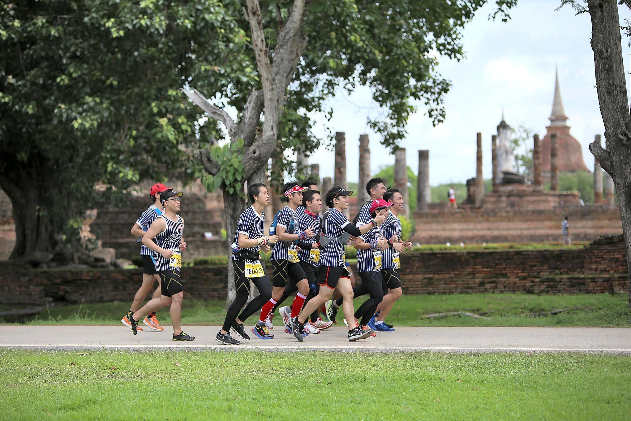 กลุ่มนักวิ่ง