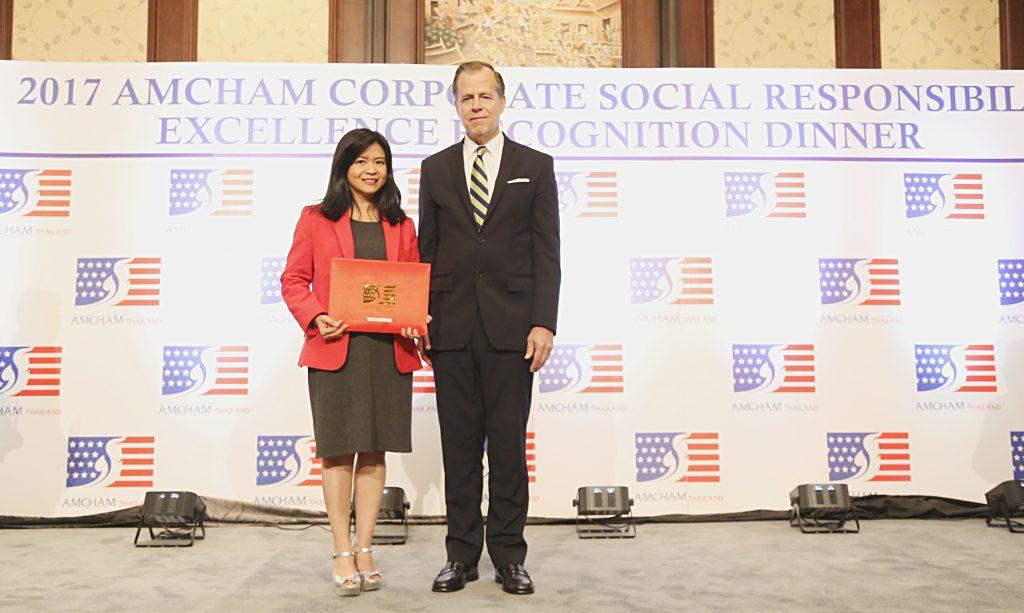 AIA ประเทศไทย รับรางวัลดีเด่นด้านกิจการเพื่อสังคม 6 ปีซ้อน