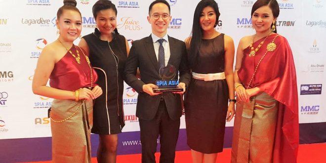 "AIA ประเทศไทย คว้ารางวัลสุดยอดของวงการกีฬา ""SPIA ASIA AWARD 2017"""