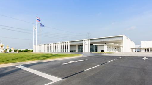 โรงงานงานผลิตเครื่องยนต์มาสด้า พาวเวอร์เทรน แมนูแฟคเจอริ่ง ประเทศไทย