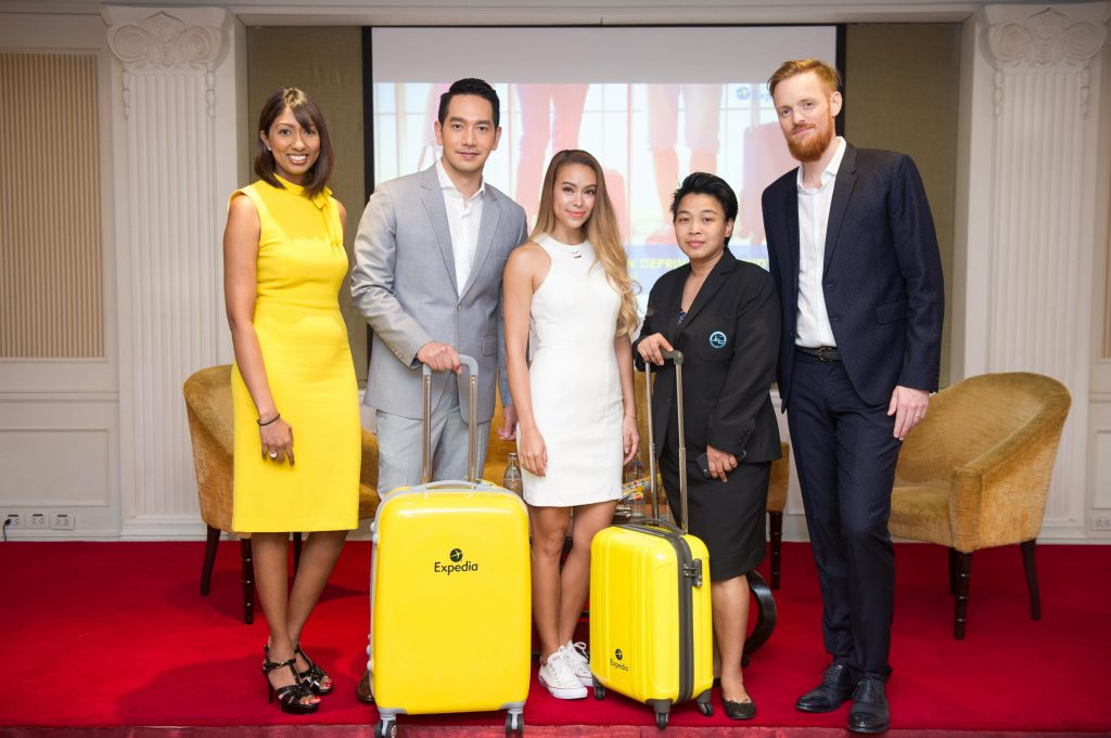 Expedia Thailand Vacation Deprivation Press Event