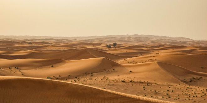 ทะเลทราย ดูไบ