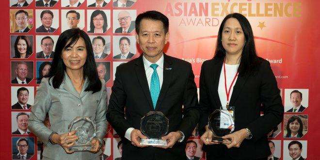 IRPC รับ 3 รางวัล Asian Excellence Awards 2018